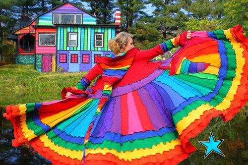 Rainbow Mystic Topaz Engagement Ring